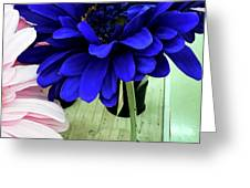 Color-faux Blooms Greeting Card by Rick Locke