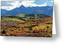 Colorado Color Bonanza Greeting Card