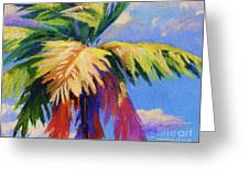 Colorful Palm Greeting Card