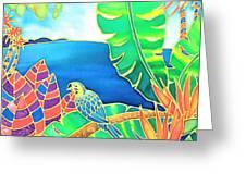 Colorful Tropics 16 Greeting Card