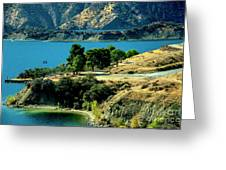 Columbia River Lakes Greeting Card