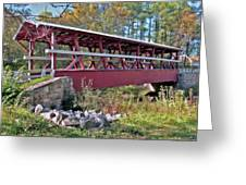 Colvin Covered Bridge Greeting Card