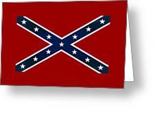 Confederate Stars And Bars T-shirt Greeting Card