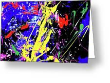 Contemporary Art Greeting Card