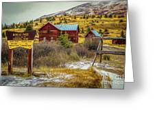 Continental Divide Greeting Card