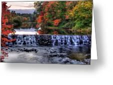 Contoocook River Reservoir  Greeting Card