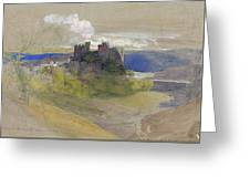 Conway Castle - Digital Remastered Edition Greeting Card