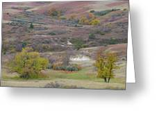 Copper Hills Autumn Greeting Card