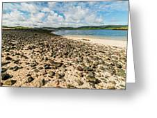 Coral Beach, Skye Greeting Card