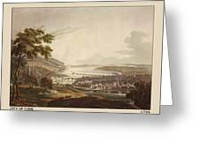 Cork Ireland 1799 Greeting Card