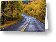 Country Travels Greeting Card by John De Bord