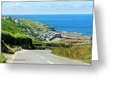 Cove Hill Sennen Cove Greeting Card