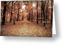Covered Path Greeting Card