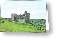 Crighton Castle In Summer Greeting Card