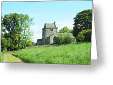 Crighton Church And Track Greeting Card