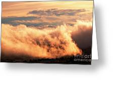 Cripple Creek Fog Greeting Card