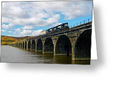 Crossing The Rockville Greeting Card