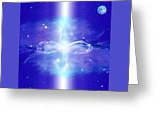 Crystal Chamber Of Light Greeting Card