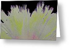 Crystalized Cacti Spears 2b Greeting Card