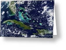 Cuba And Florida Greeting Card