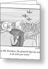 D Day Greeting Card