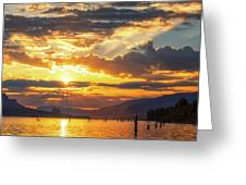Dalton Point Sunrise Greeting Card