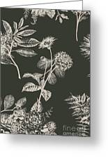 Dark Botanics  Greeting Card