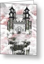 Dark Romantic Castle Greeting Card