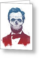 Dead Lincoln Greeting Card
