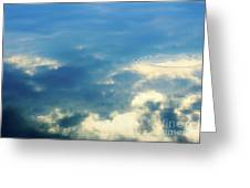 Deep Blue Sky Greeting Card