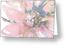 Delicate Flower Burst    Greeting Card