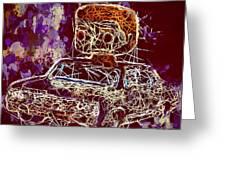 Dean Winchester Car Supernatural Pop  Greeting Card