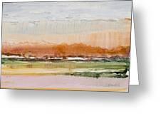 Desert Grasslands    Greeting Card