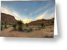 Desert Hike Greeting Card