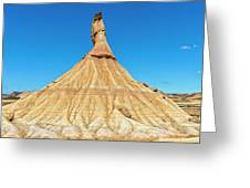 The Desert Of The Royal Bardenas Greeting Card