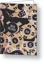 Diamond Odds Greeting Card