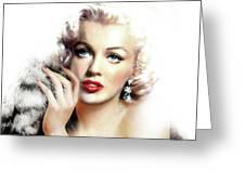 Diva Mm Bright Greeting Card