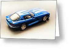 Dodge Viper Gts Greeting Card