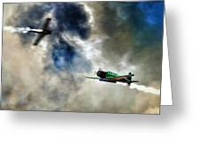 Dogfight Greeting Card