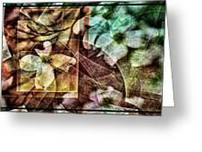 Dogwood Abstract Greeting Card