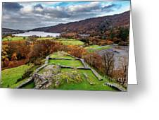 Dolbadarn Castle View Greeting Card