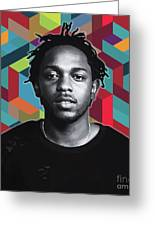 Don't Kill My Vibe Kendrick Greeting Card