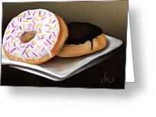 Doughnut Life Greeting Card
