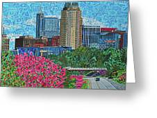 Downtown Raleigh Greeting Card