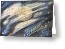 Dream Moon Greeting Card