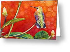 Dreamy Hummer Greeting Card
