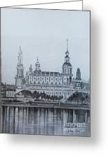 Dresden Cathedral- Dresden Greeting Card