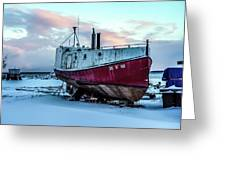 017 - Dry Dock Greeting Card