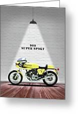Ducati 900 Super Sport Greeting Card