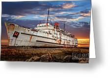 Duke Of Lancaster Ship Greeting Card